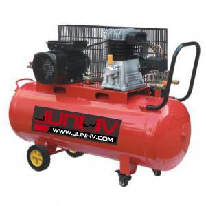 Quality 220V Oil Lube Auto Shop Air Compressor 3HP 250 Air Displacement L/Min - CFM 100L for sale