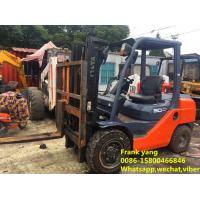 Quality Hydraulic Systems Used Diesel Forklift Truck Good Working Condition for sale