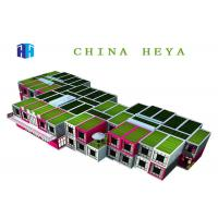 Quality Waterproof Flat Pack Container House , 2 Story Modular Homes Easy To Assemble for sale