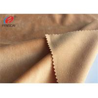 Buy cheap Super Soft Polyester Minky Plush Fabric , Warmth Solid Fleece Fabric For Toy from wholesalers