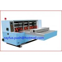 Quality Automatic Rotary Die Cutter Vacuum Suction Back Kick Feeding Cutting Creasing Punching for sale