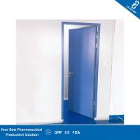 Quality Sealed Design WHO Standard Pharmaceutical Clean Room Door with Auto Closer for sale