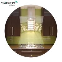 China 6mm 8mm Back Painted Glass Price Stove Decorative Glass For Interior Kitchen Deco on sale