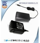 Quality Black 12V 1A AC En60950 Pc Desktop Power Supply AC DC Adaptor 12W for sale