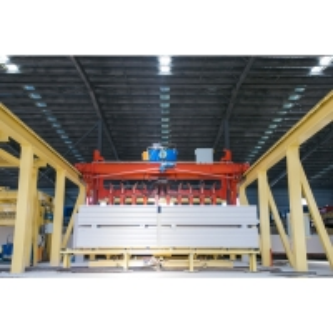 Quality CE Crane Semi Automatic Block Making Machine for sale