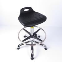 Buy Hydraulic Height Adjustable Swivel ESD Cleanroom Chairs With Anti-static at wholesale prices