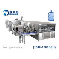 Buy cheap Multi Functional Auxiliary Equipment Water Bottling Equipment 3 - 6 Gallon from wholesalers
