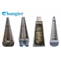 China High-Quality Stainless Steel Horizontal Screw Conveyor For The Food Industry on sale