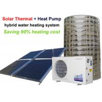 Quality 11 - 100 KW Heat Pump Hot Water Heater , Solar Powered Heat Pump System for sale
