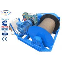 Quality Electronic Control Power Line Stringing Equipment Slow Speed Winch Lifting Road Bridge Installation for sale