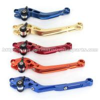 Quality CNC Milled Motorbike Brake Levers / Long Style Clutch And Brake Levers For Street Bikes for sale