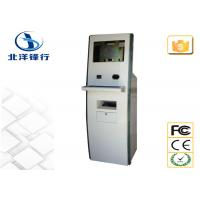 Quality Customized Lobby / School Self Service Banking Kiosk With Card Dispenser for sale