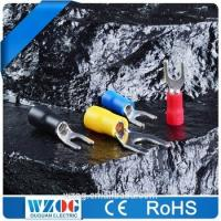 China Hot Sale Electrical Tin Plated Insulated Spade Crimping Terminal Connector, Cable Terminal on sale