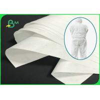 China Waterproof 1443R 1460R 1473R Tyvek Material For Medical Isolation Suits on sale