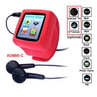 China MP4 Player Wrist Watch with Photo Frame and E-book Functions CE ROHS  FCC on sale