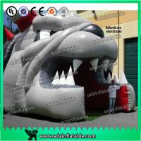 Quality Inflatable Bulldog Mascot Football Entrance Tunnel for sale