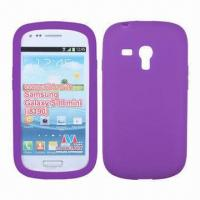 Quality Cellphone Cases, Used for Galaxy SIII Mini (i8190), Made of Silicone, Available in Various Colors for sale
