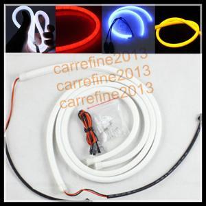 China 120cm Flexible Led Tube Strip DRL Lights LED Headlight Stripe LED Daytime Running Light on sale