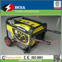 Quality 3KW Single Phase Portable Gasoline Generator Sets for sale