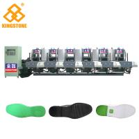 Quality Automatic 1-2 Color Rubber Sole Making Machine With Auto Inter - Lock Protection System for sale