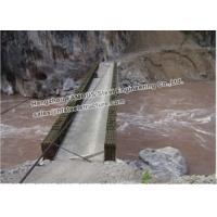 Quality Emergency Rescue Channel  Bridge Temporary Steel Floating Bridge For Flood Control for sale