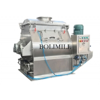 China Food Grade Calcium Powder 600L Paddle Mixer Machine on sale