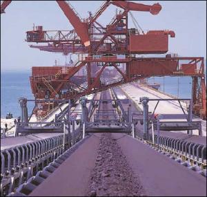 stainless steel cord flat belting conveyer