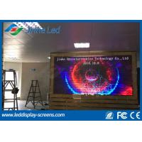 Quality Full Color Video P4 HD Video Wall Indoor LED Display Module Aluminum Cabinet for sale