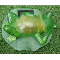 Quality Resin solar crafts lamp for sale