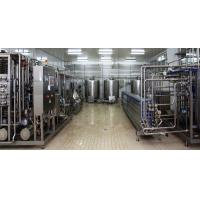 Quality Stainless Steel Drinking Eating Yogurt Production Line With Milk Collection Section for sale