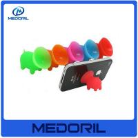 China Hot Sale Silicone Mobile Phone Sucker stand/Sucker Holder for iphone mobile phone sucker stand on sale