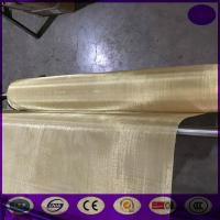 Quality brass wire mesh for communication systems for sale