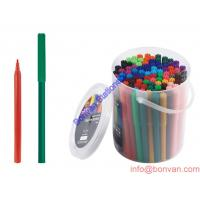 Quality gift promotion 40 60pcs PVC tube packed washable art drawing pen for sale