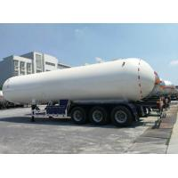 China Propane Lpg Road Tanker Durable Spherical Heads And Cylindrical Shell on sale