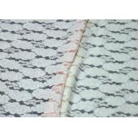 Elegant Colored Breathable Brushed Jacquard Lace Fabric For Women