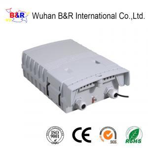 Quality 6 Cores Dustproof Fiber Optic Distribution Box For FTTX for sale