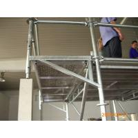 Quality Steel Ring Lock scaffolding System / Assembly Scaffold with Flexible structure system for sale