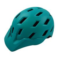 Quality Cyan Mountain Bike Helmet Outdoor Rock Sport 25 Vents For Safe Riding for sale