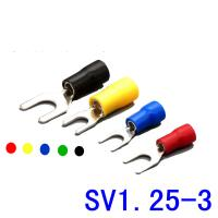 China SV 1.25-3 Series Insulated Spade Crimp Terminals on sale