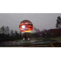China Advertisement P5 P6 Smd Globe Led Display Curved Ball Customized Diameter on sale