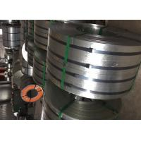 Quality Regular Spangle Polished Stainless Steel Strips Z40-Z600 EN10346 Construction for sale