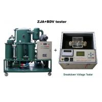 China ZJA Double-Stage Transformer Oil Purifier/Insulation Oil Filtration/Dielectric Oil Purification Equipment wholesale