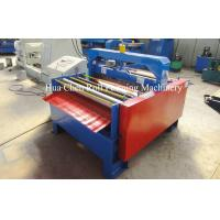 China Full Automatic Metal Plate Cutting Machine 3 rows For Wall Panel on sale