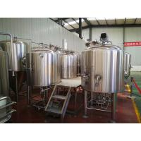 China 5 Bbl Beer Production Equipment Semi Automatic Control For Micro Brewery on sale