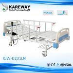 Lit électrique des moteurs ICU de la sécurité 2, lit d'hôpital haut-bas de lit avec la roulette de TPR