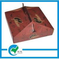 Buy cheap Full Color Pizza Lamination Cardboard Packaging Boxes with EU level from wholesalers