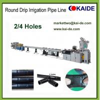 China Drip Irrigation Pipe Prodution Machine with 2 holes 4 holes 6 holes China factory price wholesale