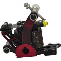 Quality red liner shader tattoo machines with10 wrap coil shader design for sale