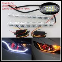 Quality Flexible Switchback LED daytime running light Strip Light for Headlight Sequential Flasher for sale
