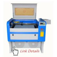 Quality 40x60 Cm Small Laser Wood Cutting Machine , Non Metal Acrylic Laser Engraving Machine for sale
